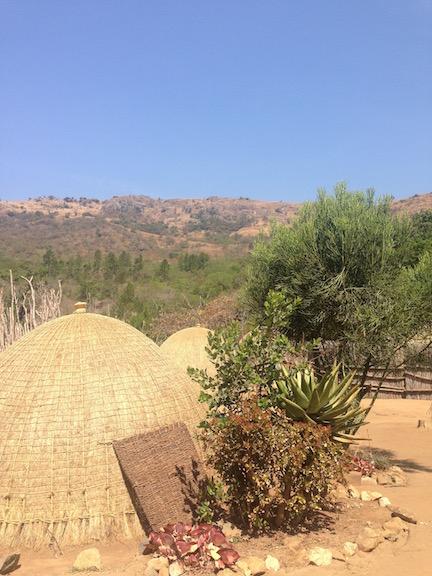 Visiting the Mantenga Cultural Village
