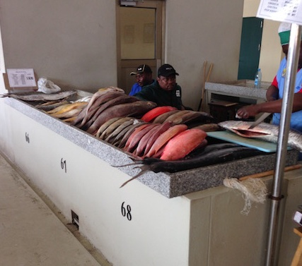Fish Market Maputo