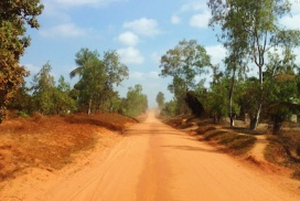 Road in Mozambique