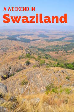 A weekend in Swaziland