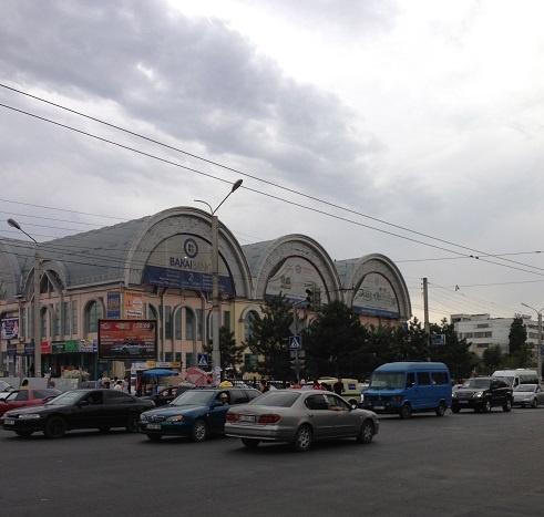 market in bishkek