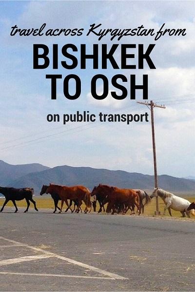 travel bishkek to osh
