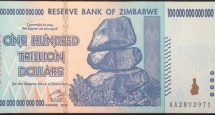Money from Zimbabwe