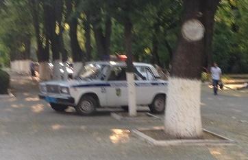 police car tiraspol