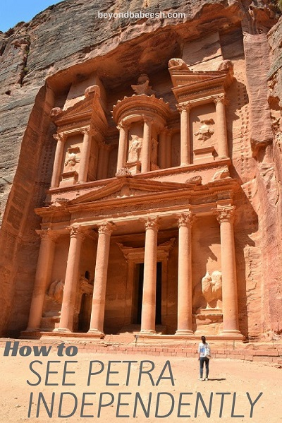 Travel to Petra Independently