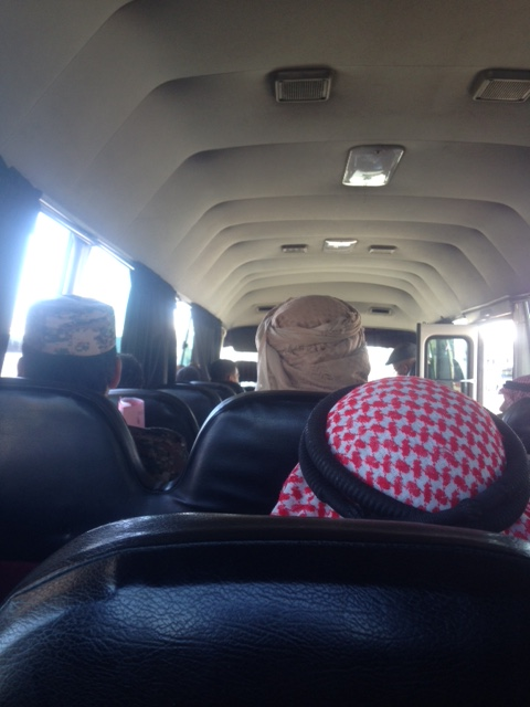 Bus Ride in Jordan