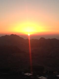 Petra Sunset