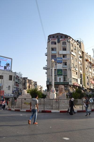 Square in Ramallah
