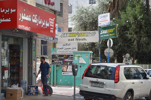 Restaurant names Ramallah