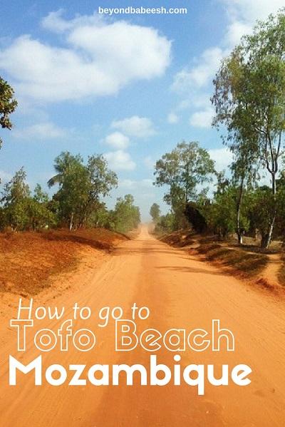 public transportation to Tofo Beach Mozambique