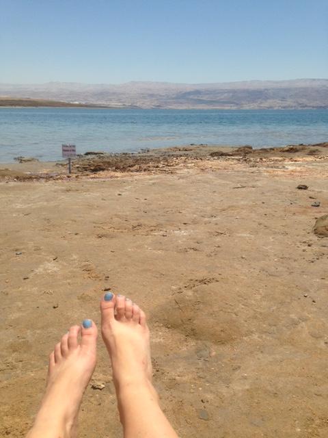 Dead sea kallia beach