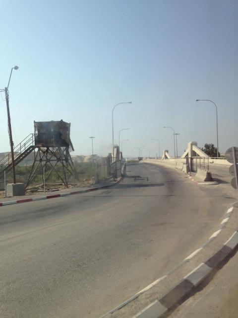 Allenby Bridge Border Crossing
