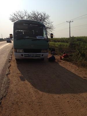 broken bus to tofo mozambique