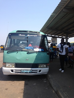 bus to inhambane from Maputo Mozambique