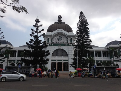 The train station in Maputo