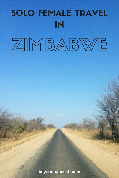 solo female travel to Zimbabwe
