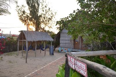 Fatima's Nest Tofo Mozambique Inside