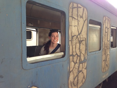 Train from Mozambique to Zimbabwe