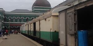 train in Maputo Train station Mozambique