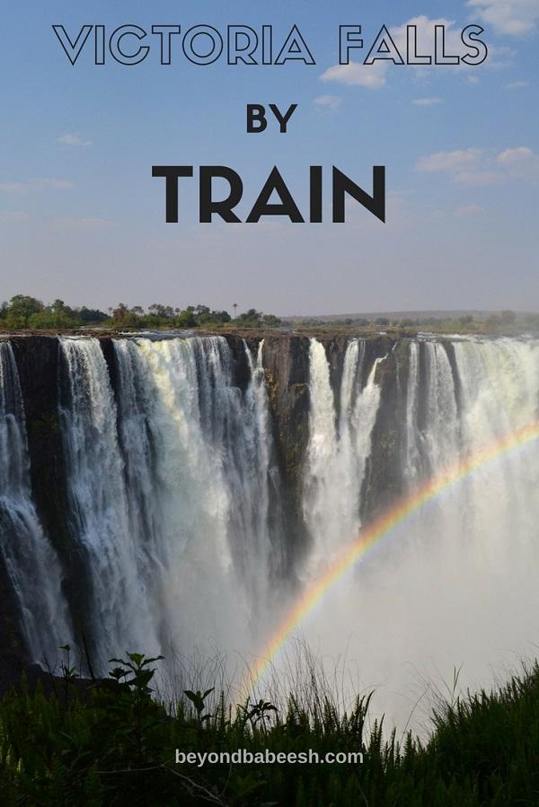 Train to victoria falls Zimbabwe