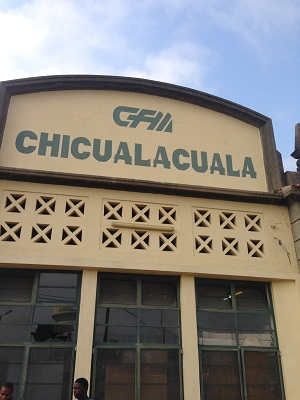 Chicualacuala Train station