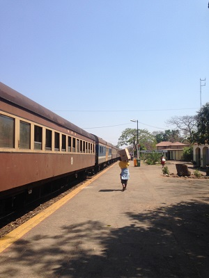 train station victoria falls zimbabwe