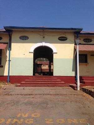 Victoria Falls Train Station
