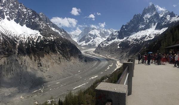 Mont Blanc Mer de Glace
