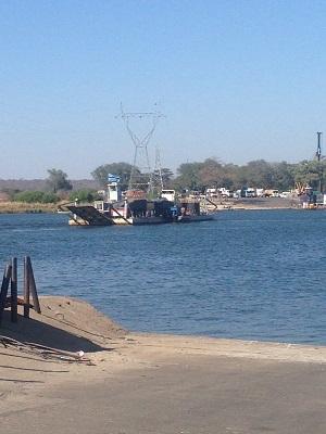 from Zambia to Botswana