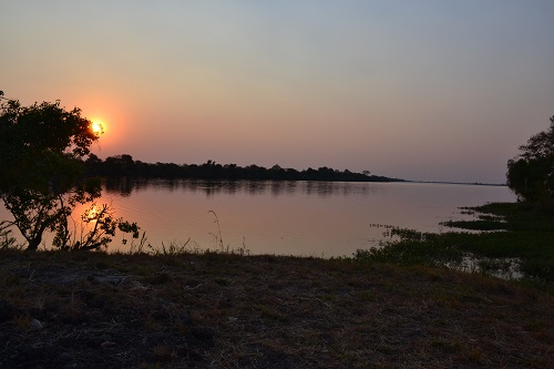 Kafue National Park Sunset Zambia