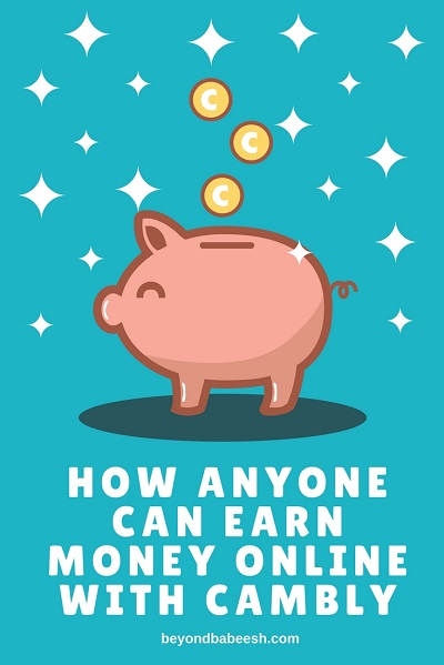 Anyone can earn money online with cambly