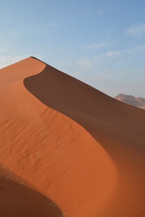 gorgeous sossusvlei dune at dawn