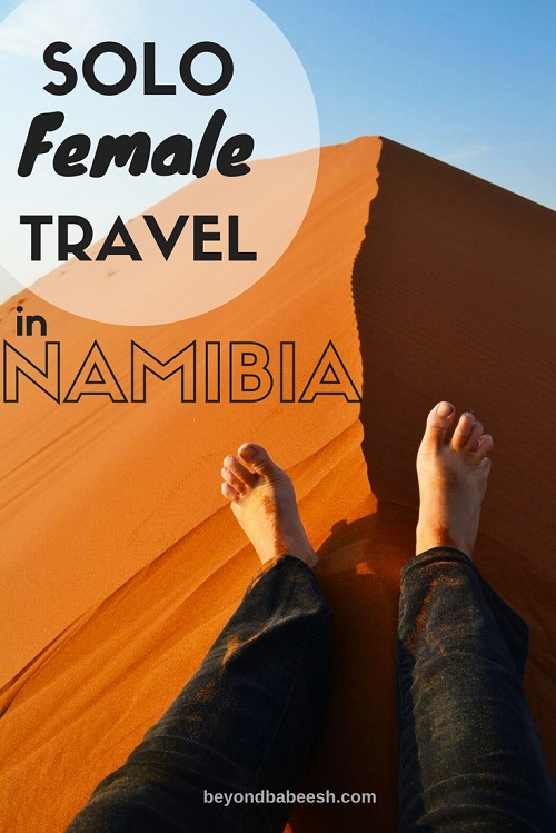 solo female travel in namibia information