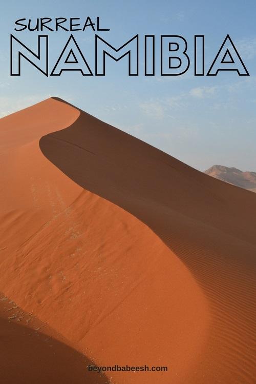 Surreal Namibia Sossusvlei