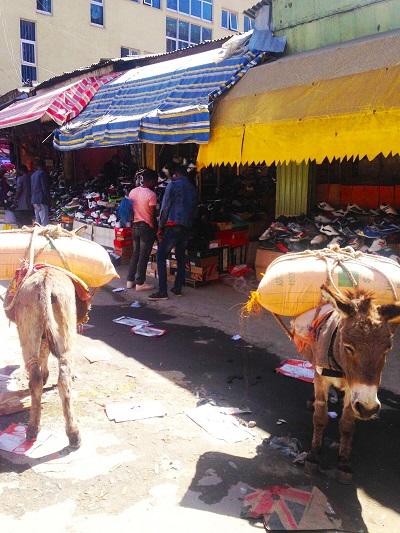 Addis ababa Mercado