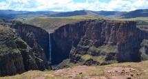 Maletsunyane falls semonkong lesotho