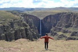 Semonkong Lesotho waterfall