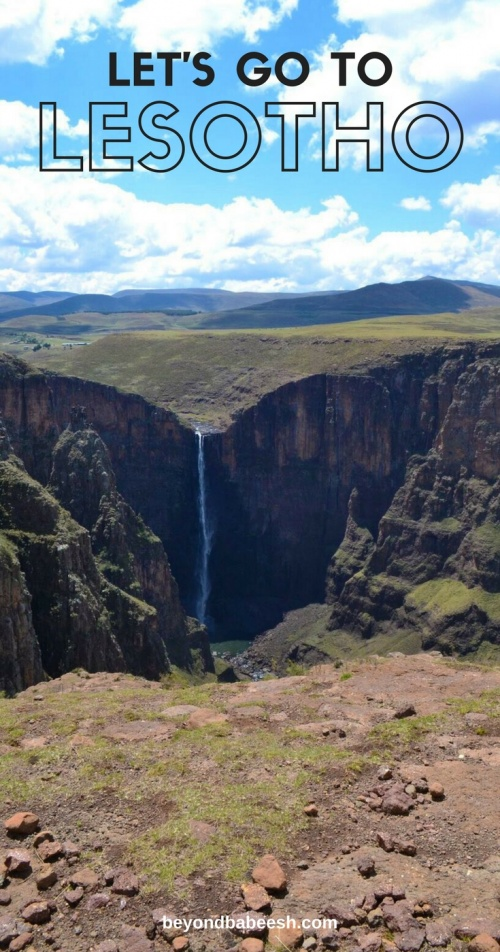 let's go to lesotho