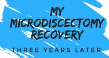 three years after my microdiscectomy