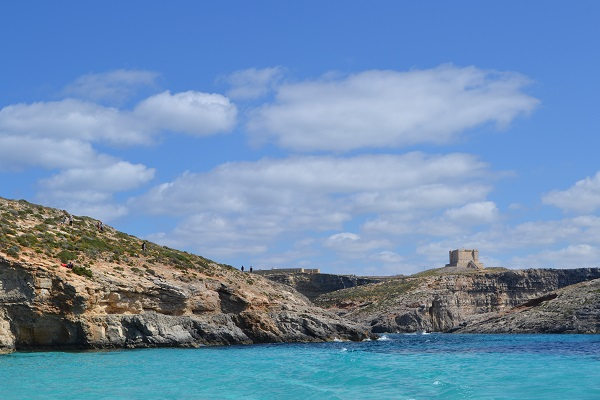 Fortress on the Maltese island of Comino5