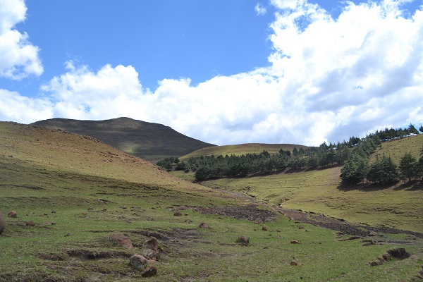 lesotho countryside