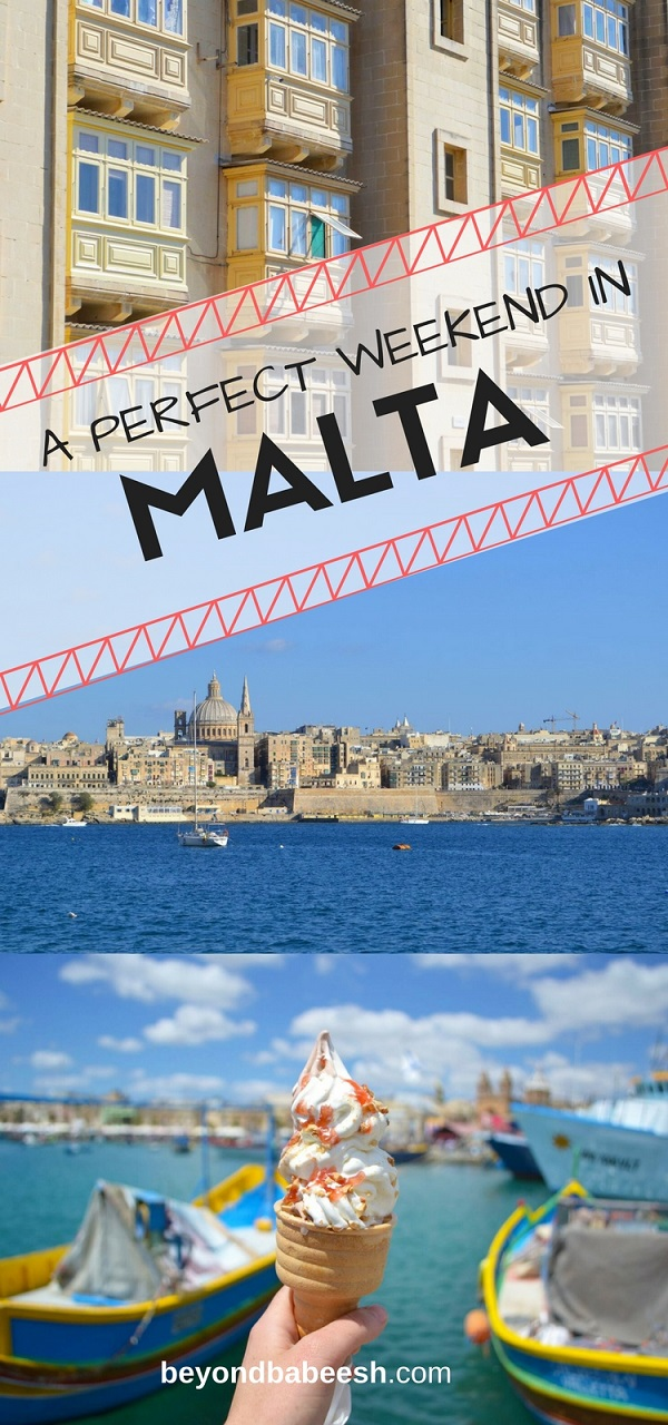 how to spend a weekend in Malta