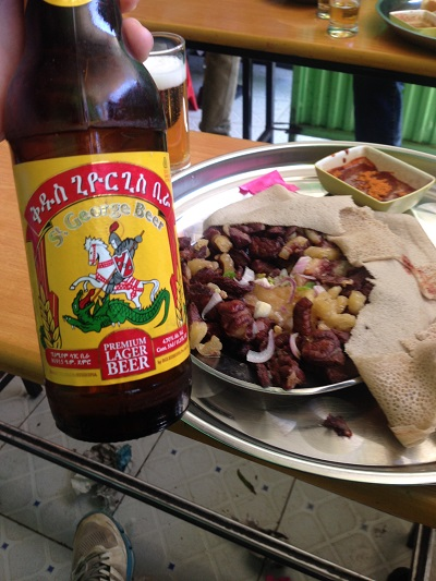 tibs and food in addis ababa ethiopia