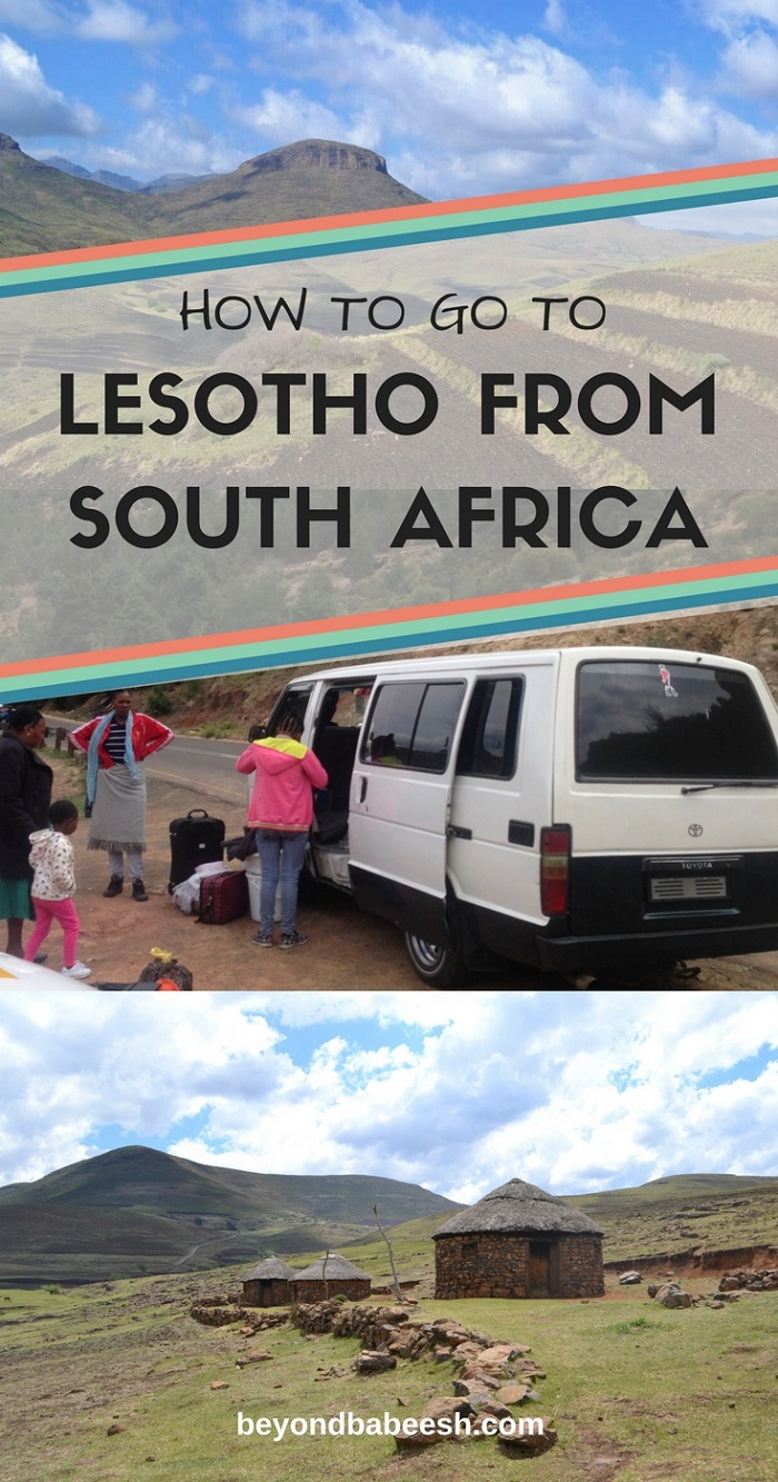 travel to lesotho from south africa