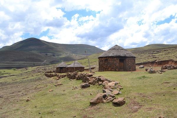village in lesotho near semonkong