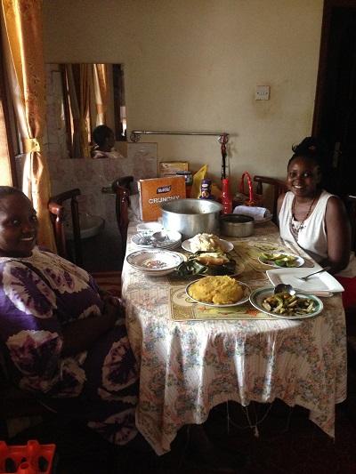 food in uganda