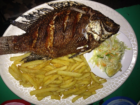 fish from lake victoria meal
