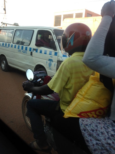 Bus between Kenya and Uganda