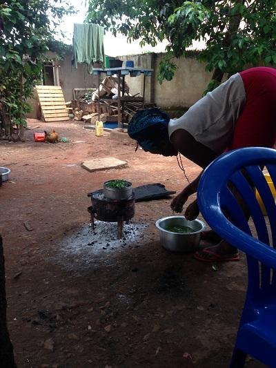cooking ugandan food