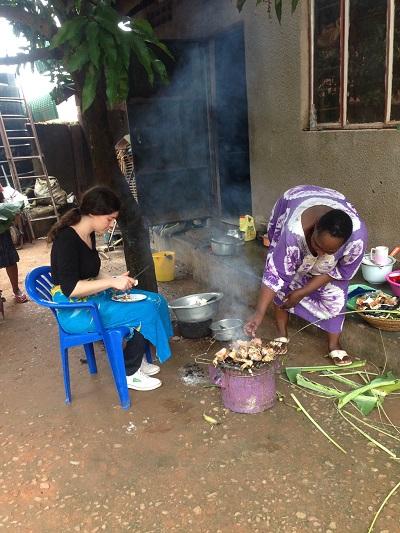 cooking in uganda